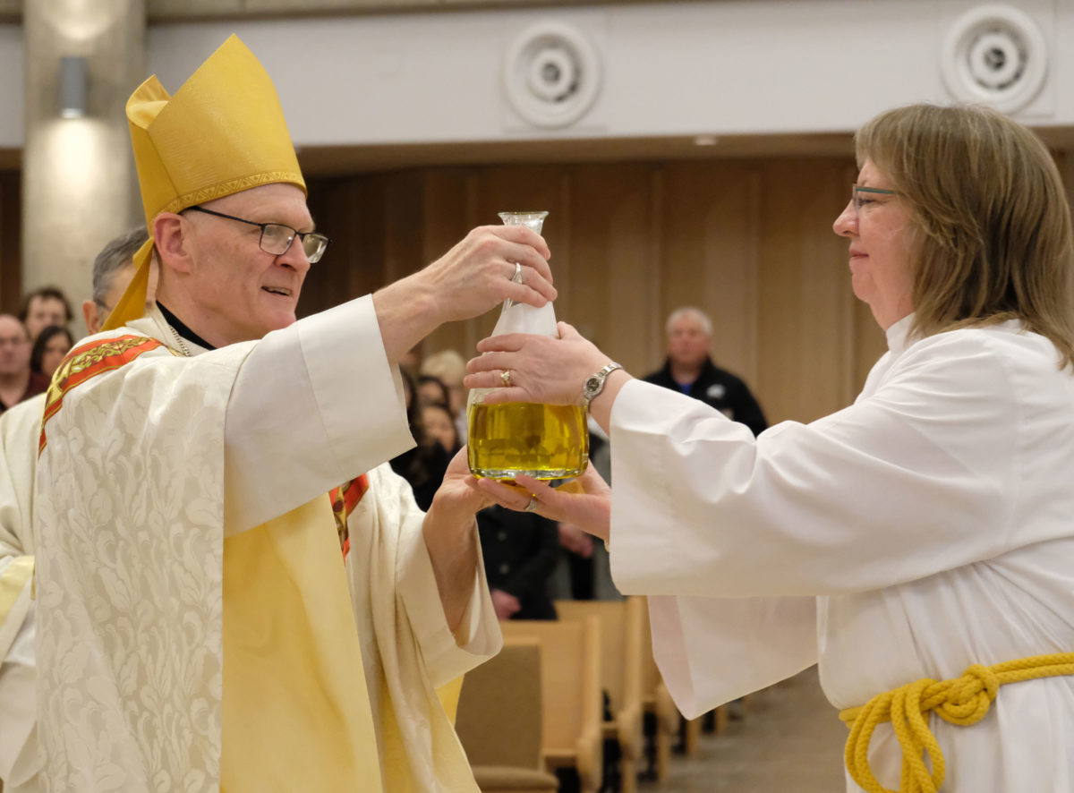 Chrism Mass celebrated as Holy Week begins