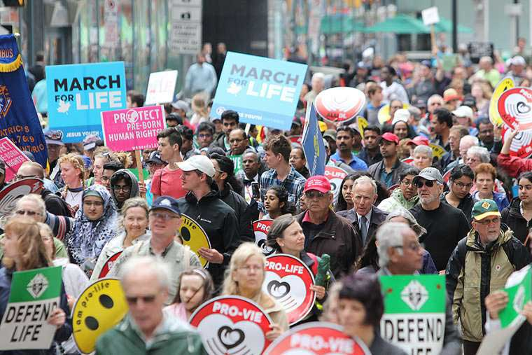 Message from the Canadian Conference of Catholic Bishops  for the 2019 National March for Life