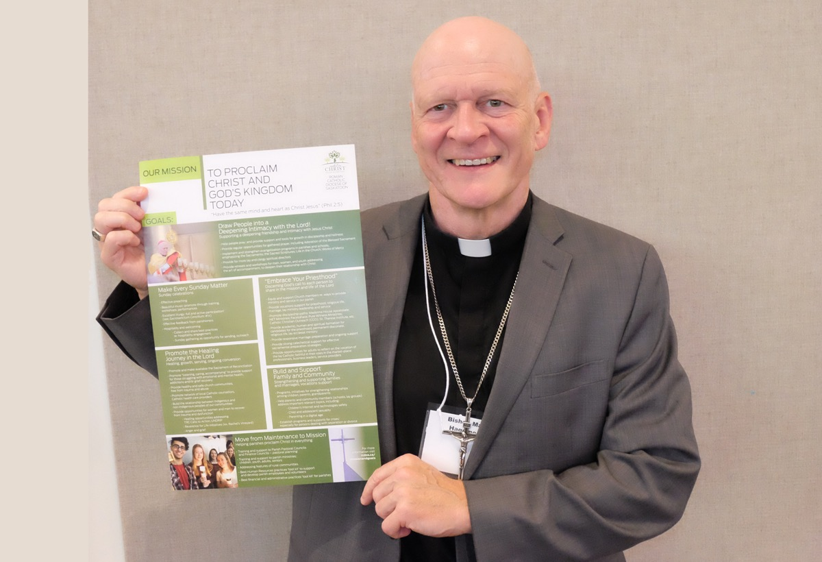 """""""Proclaim Christ and God's Kingdom Today"""" – Pastoral Plan launched for diocese"""