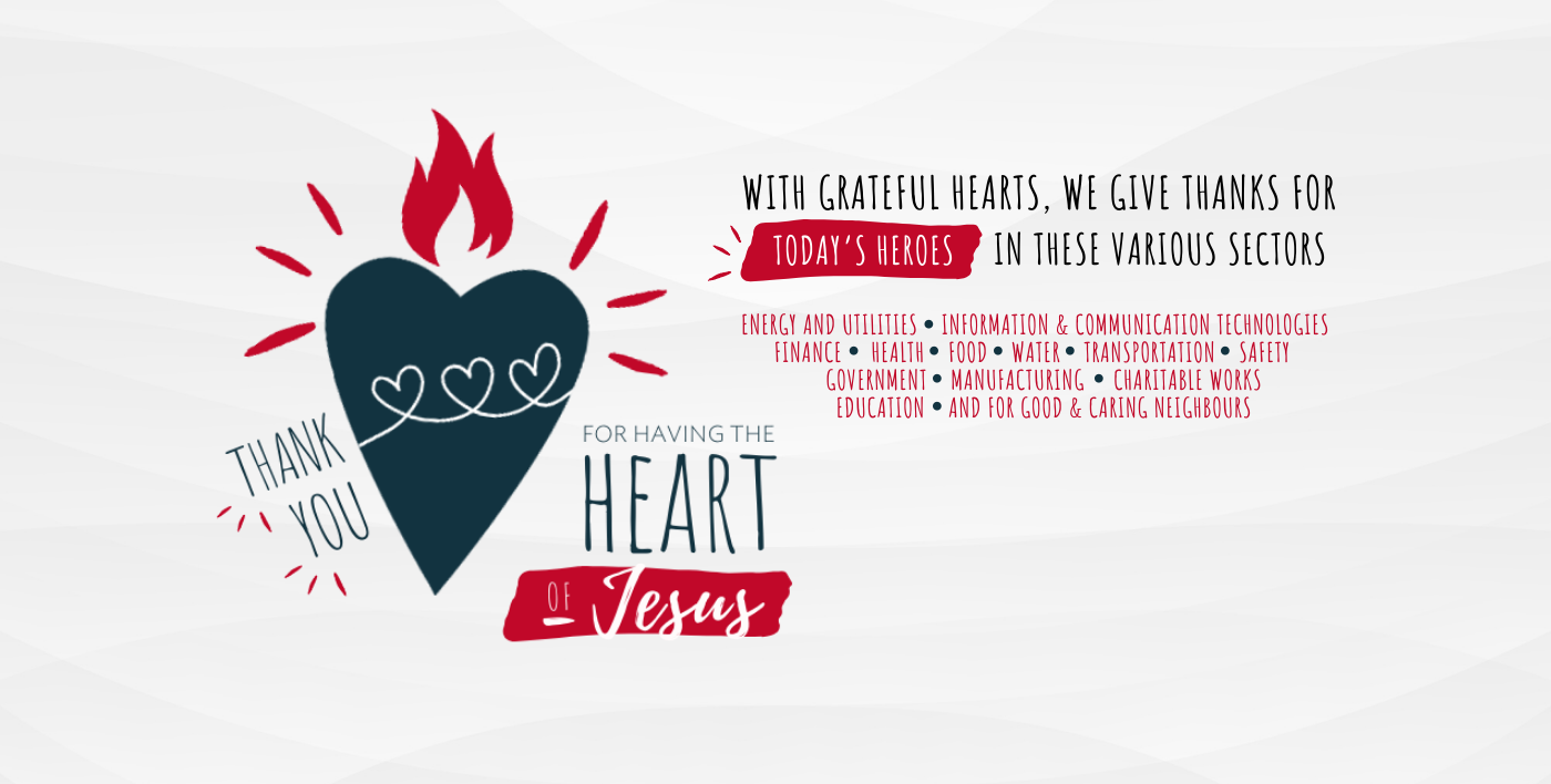 """""""Heart of Jesus"""" RESOURCES page"""